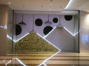 室内墙面装饰灯光