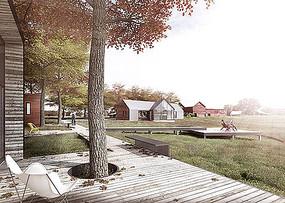 乡村别墅景观