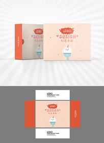 小兔子元素包装盒设计