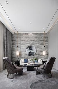 新中式售楼处VIP室