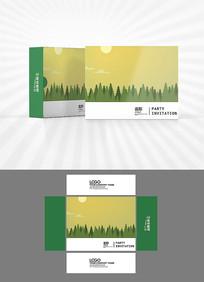 夕阳森林包装设计