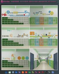 学校读书角墙面装饰