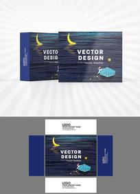 月亮湾包装盒设计