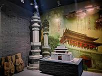 展廳古建筑模型展示