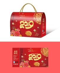 猪年礼盒设计PSD