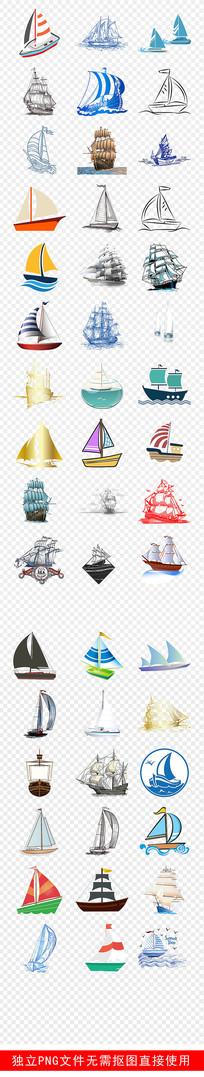航海知识轮船帆船游轮亮船素材