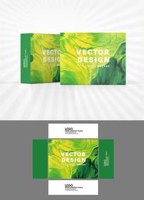 绿色油彩包装设计
