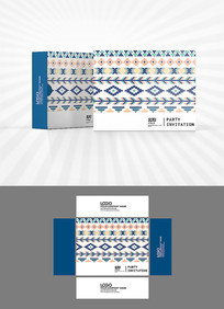 民族风装饰图案包装设计