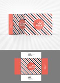 欧美风格包装盒设计