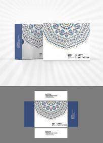 少数民族图案包装盒设计