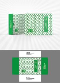 矢量几何图案包装盒设计