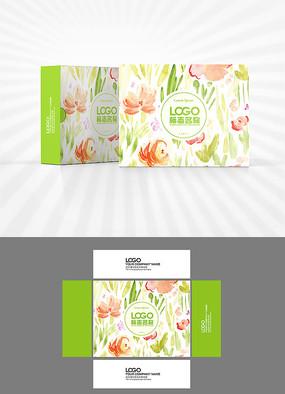 文艺小清新包装盒设计
