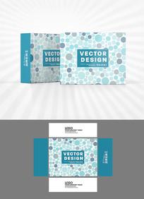 抽象圆点背景包装设计