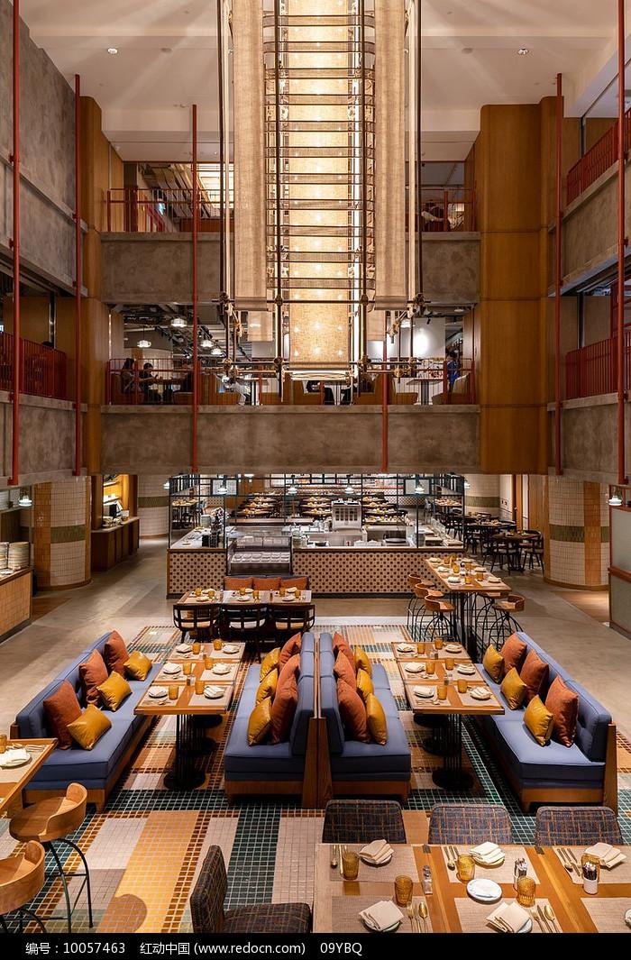 大气酒店餐厅图片