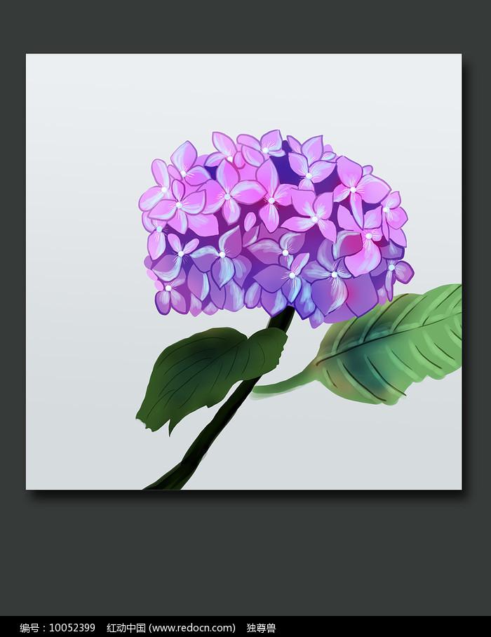 高清手绘鲜花装饰画图片