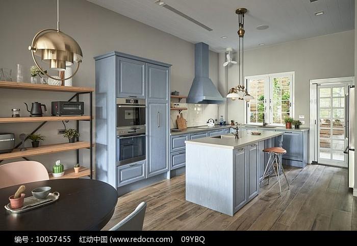 简约北欧式厨房图片