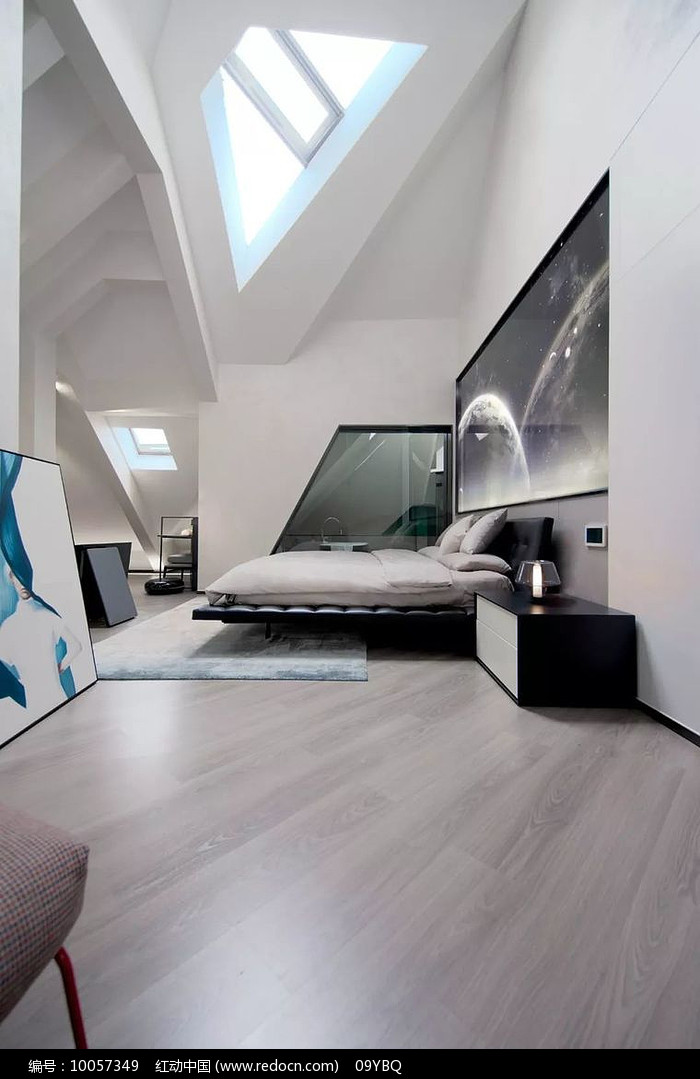 简约阁楼卧室图片