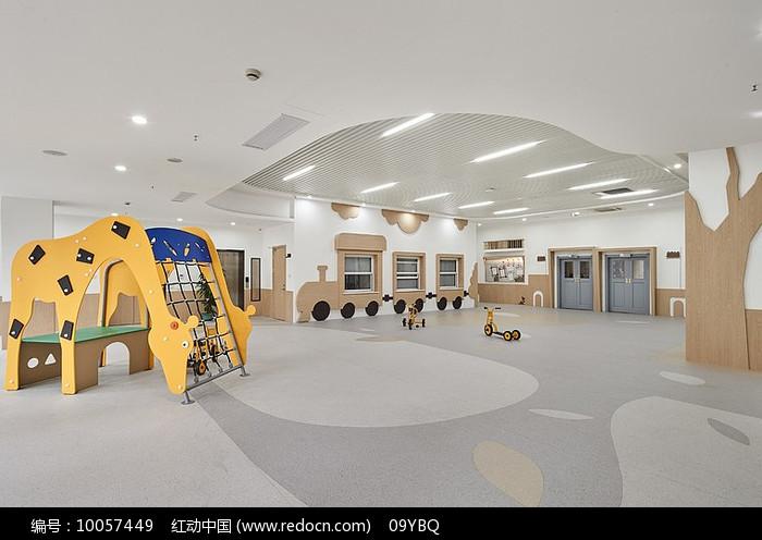 简约特色幼儿园教室设计图片