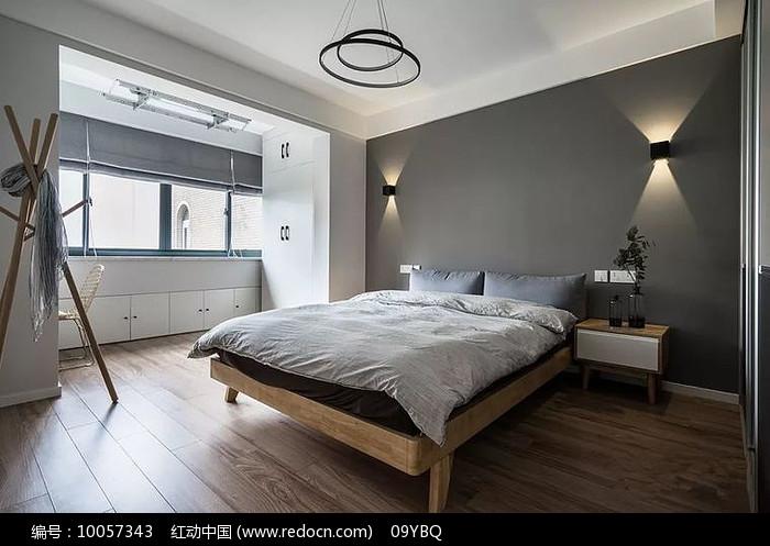 极简现代卧室装修图片