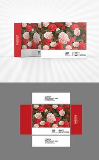 玫瑰花开包装盒设计
