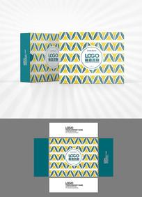 森系背景包装盒设计