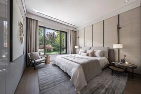 现代别墅卧室模型MAX