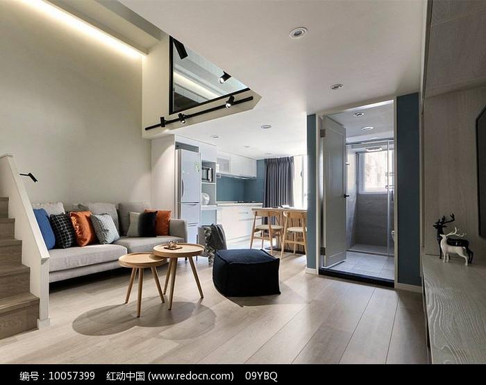 现代单人公寓图片