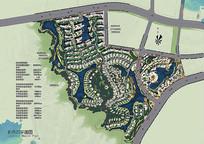 小镇规划彩平图