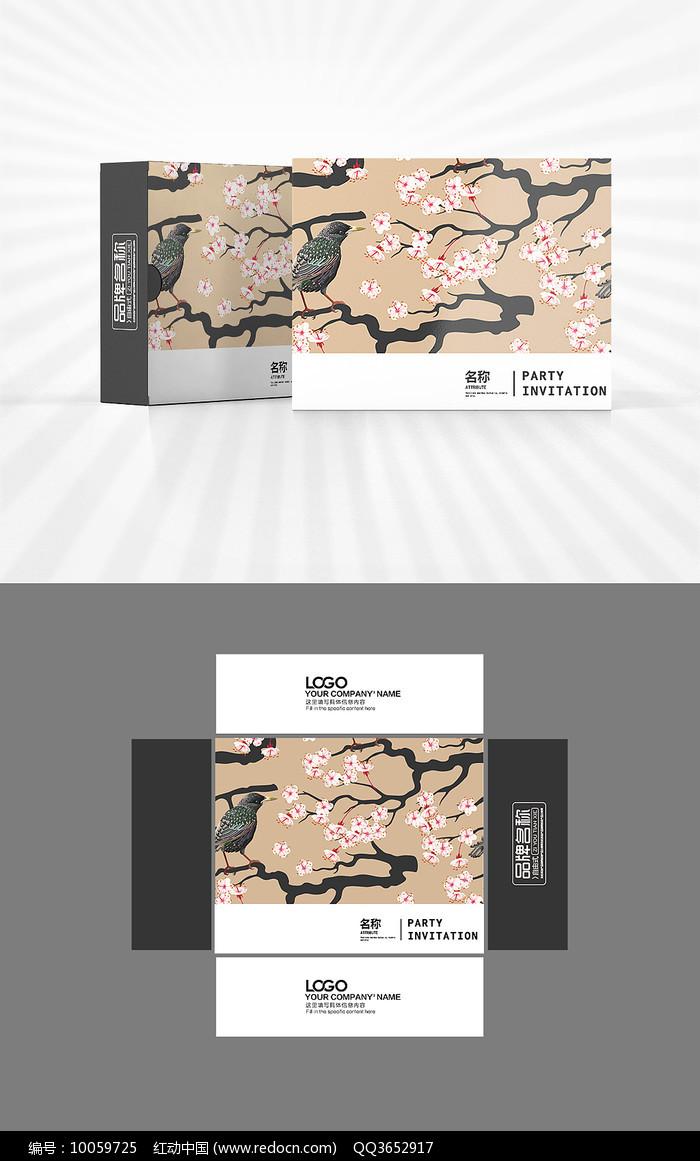 新中式风格包装盒设计图片