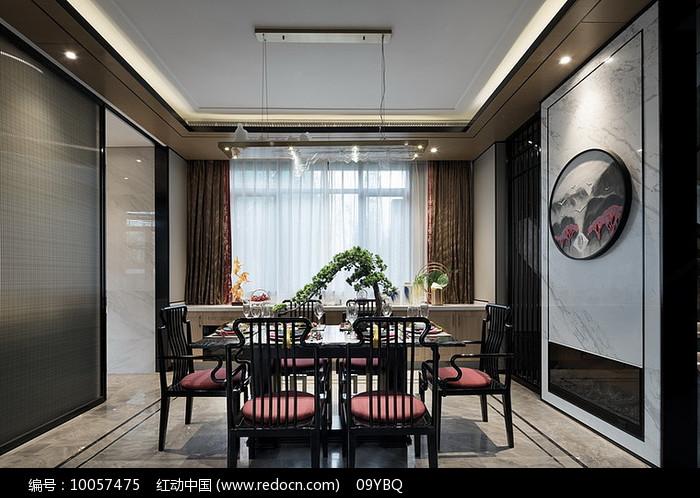 中式典雅餐厅家装图片