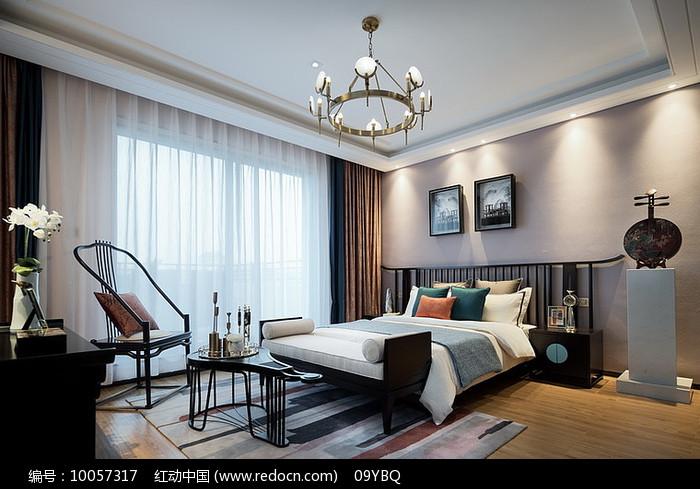 中式古典卧室图片
