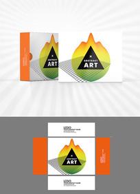 几何结构包装盒设计