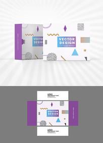 科技图案背景包装设计