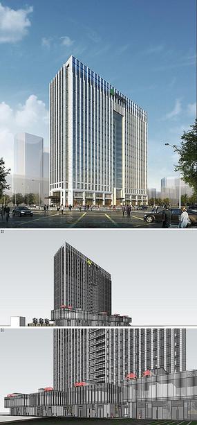绿地北京太阳宫模型