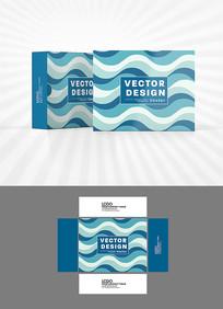 欧美风包装盒设计