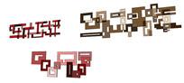 图形模块造型SU模型