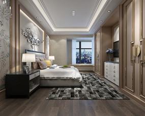 现代卧室设计模型