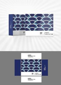 新中式底纹包装设计