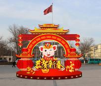 春节花灯设计