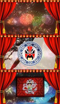 歌曲中国味道舞台背景视频
