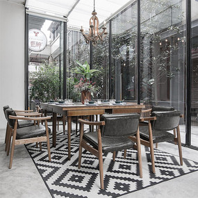 工业风咖啡厅室内设计