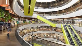 购物中心室内设计效果图