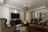 酒店别墅套房室内设计效果图
