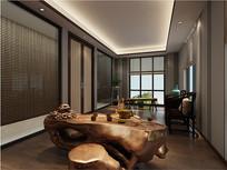 酒店茶室室内设计