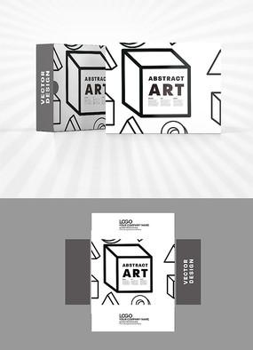 立方体图案包装盒设计