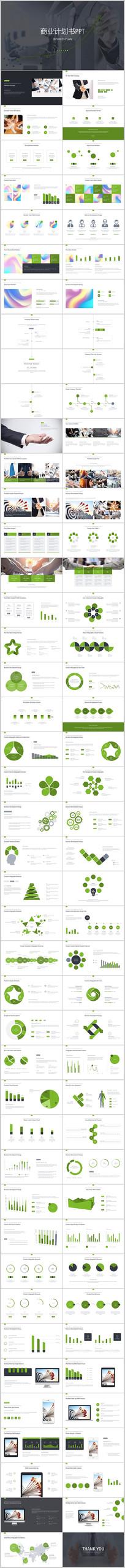 绿色通用创业商业计划书PPT