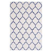 小清新规则图案排列地毯意向