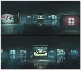 新闻电视屏幕模版