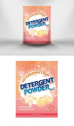 洗衣粉包装袋包装设计