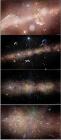 宇宙星空穿行视频